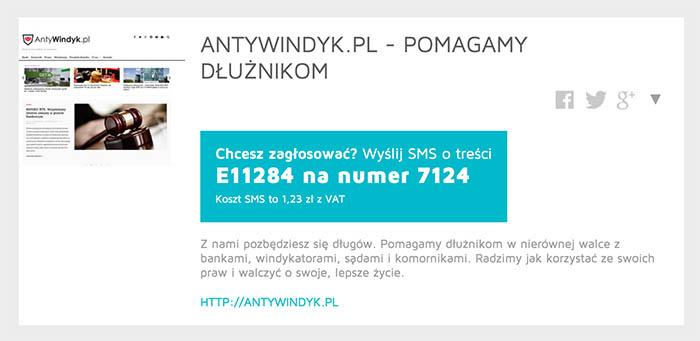 AntyWindyk.pl - konkurs Blog Roku 2015