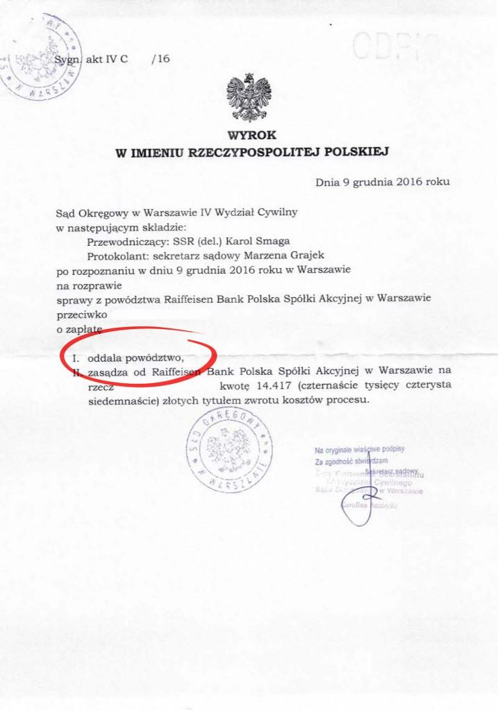 Kredyt indeksowany w euro - Polbank / Raiffeisen Bank