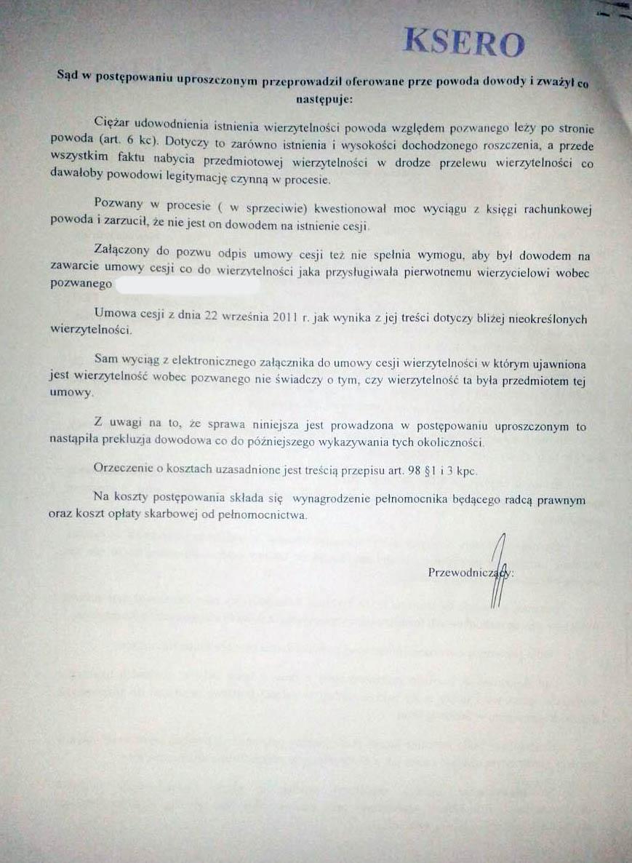 Wyrok Prokura 3