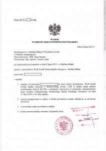 ProfiCredit - wyrok 1