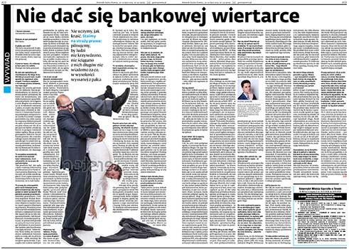 Dziennik Gazeta Prawna, Nie daćsię bankowej wiertarce