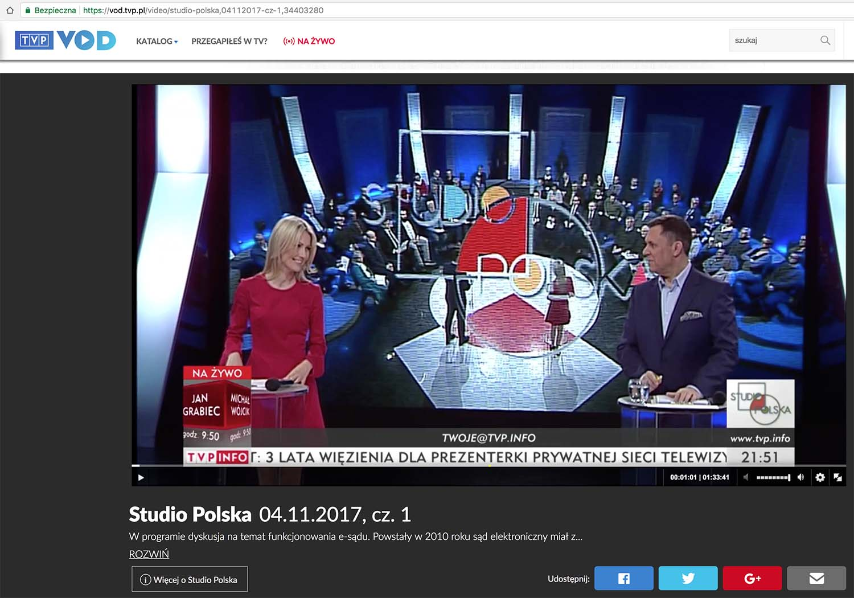 VOD – TVP.info – Studio Polska