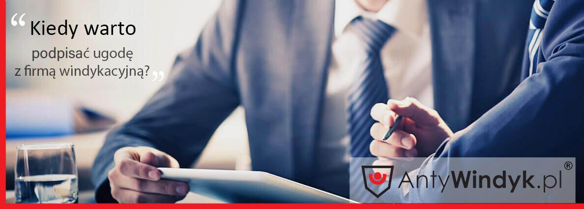 Kiedy warto podpisać ugodę z firmąwindykacyjną?